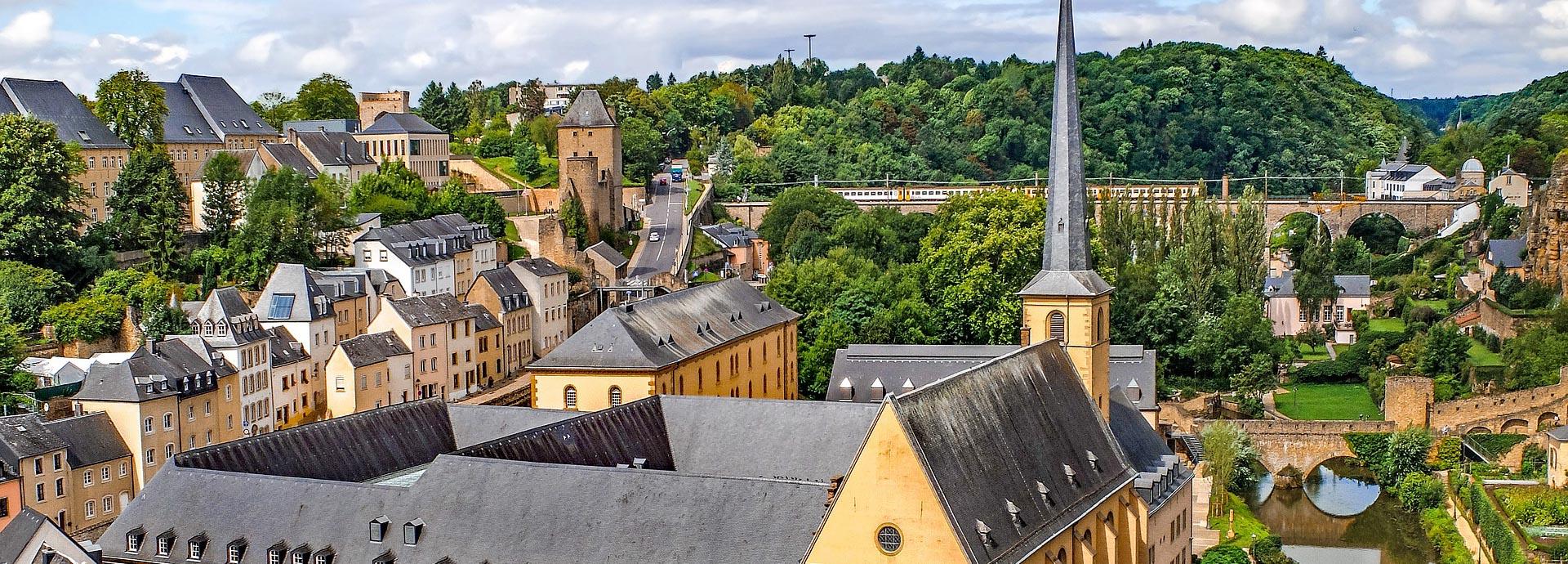 Путешествие в Люксембург Европа