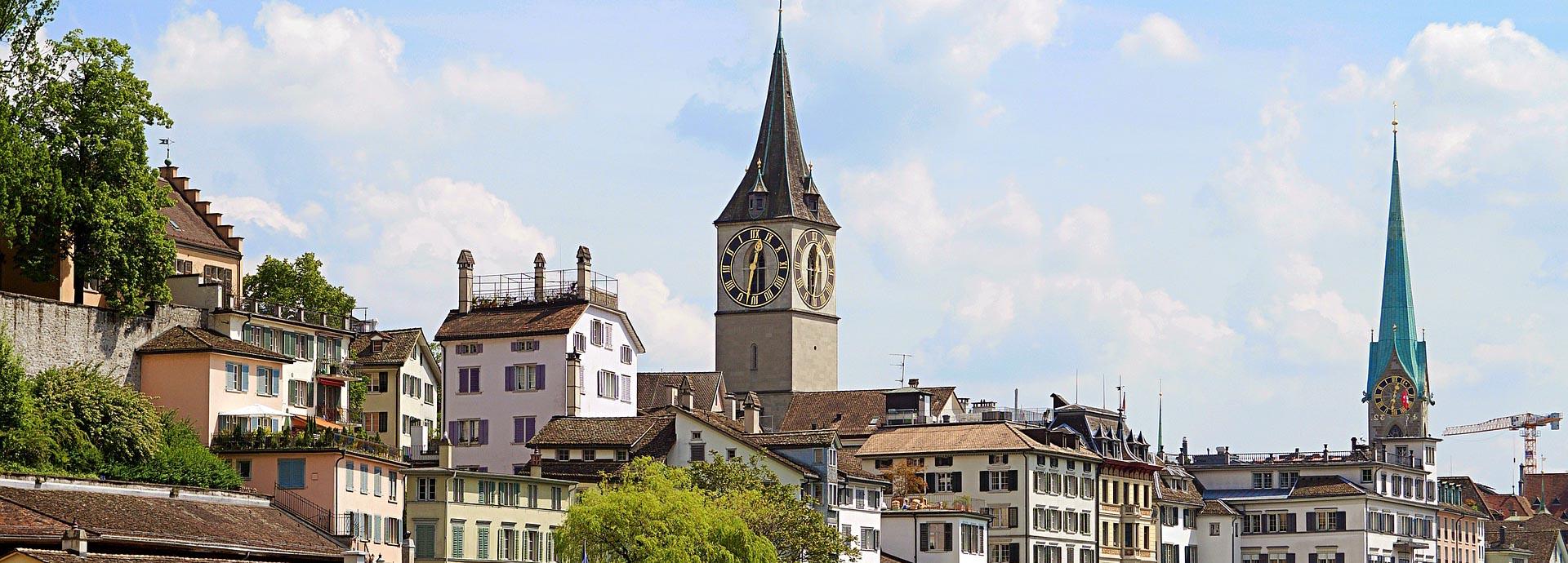Путешествие в Цюрих Швейцария