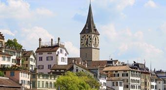 Подорож до Цюріха Швейцарія